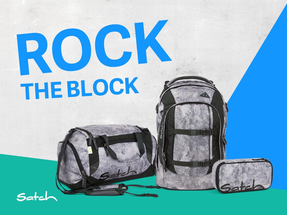 Satch Rock Block Limited Editon jetzt bei Anna+Maximilian