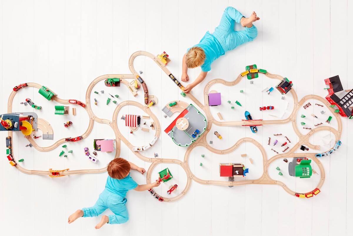 Brio Spielspaß bei Anna+Maximilian