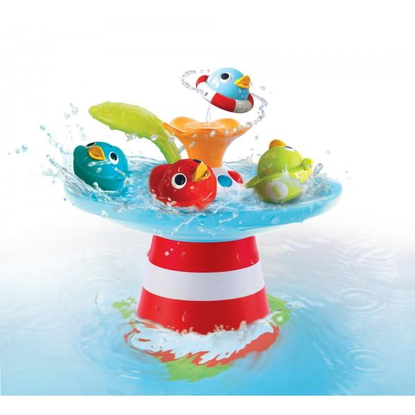 Badewannenspaß Wasserspiel Entenrennen von Yookidoo bei Anna+Maximilian